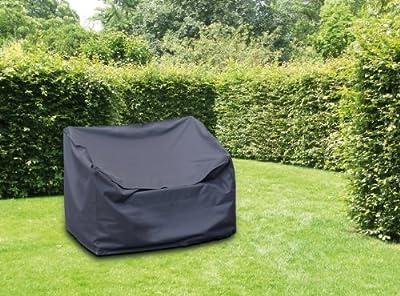 WEHNCKE Schutzhülle Deluxe für Gartenbänke ca. 160 x 80 x 75 cm