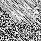 Norcho-Tapis-Chenille-Moderne-Anti-drapant-Absorbant-Polyvalent-pour-Chien-et-Salle-de-Bain-50-x-80-cm-Gris