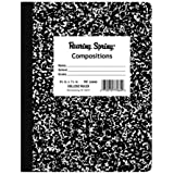 "Roaring Spring Hard Cover Composition Book, 9 3/4"" x 7 1/2"", College Ruled, 100 sheets"