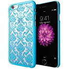 iPhone 6 Case, Cimo [Damask] Apple iPhone 6 Case Design Pattern Premium ULTRA SLIM Hard Cover for Apple iPhone 6 (4.7) - Blue