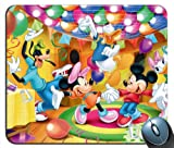 Custom Disney Lets Have A Party Mickey Mouse Mouse Pad g4215
