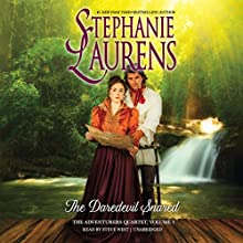 The Daredevil Snared: The Adventurers Quartet, Book 3 | Livre audio Auteur(s) : Stephanie Laurens Narrateur(s) : Steve West