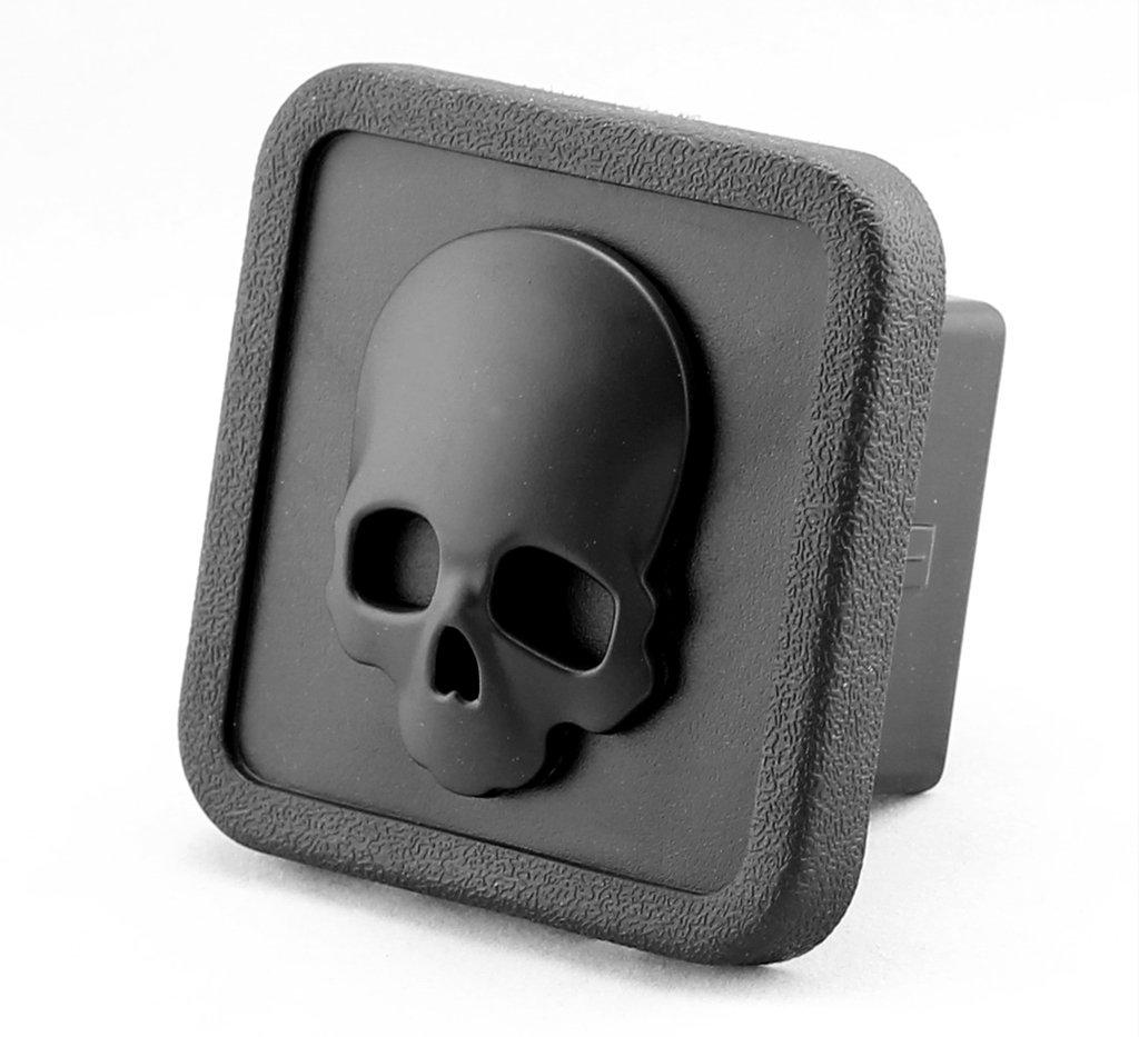 D emblem trailer hitch cover tube plug insert fits