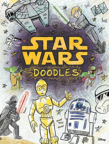 Star Wars Doodles Coloring Book