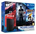 Sony PlayStation 4 1TB Slim Mega Pack Bundle (Uncharted 4, Ratchet and Clank, DriveClub)