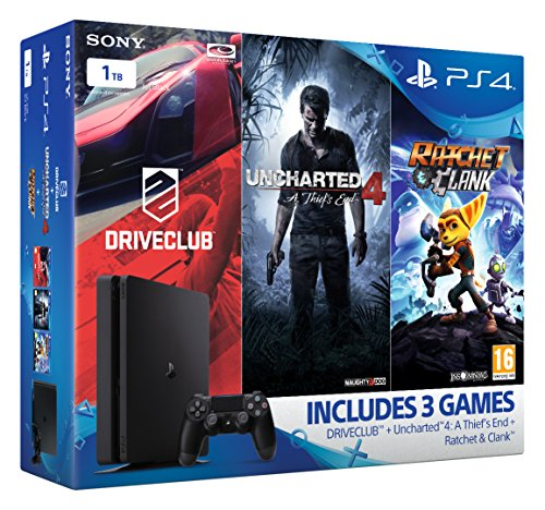 sony-playstation-4-1tb-slim-mega-pack-bundle-uncharted-4-ratchet-and-clank-driveclub