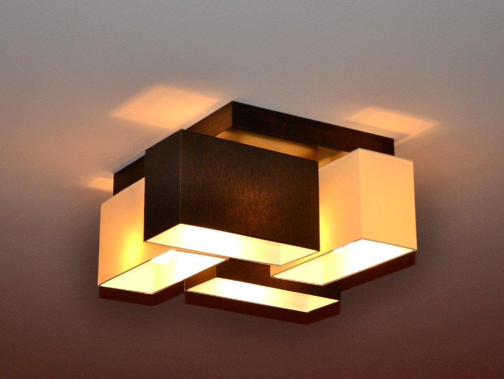 wohnzimmerlampe deckenlampe deckenleuchte lampe leuchte 4 flammig top design merano echt nice. Black Bedroom Furniture Sets. Home Design Ideas