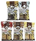 Exclusively Pet Big 5 Pooch Pack-Sandwich Cremes, 5/8-Ounce Packages