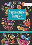 Summertime Sampler: Colorful Wool Appliqué  Sunny Quilt Blocks