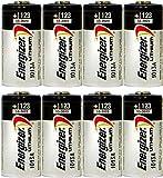 CR123A Energizer Lithium 8 Batteries