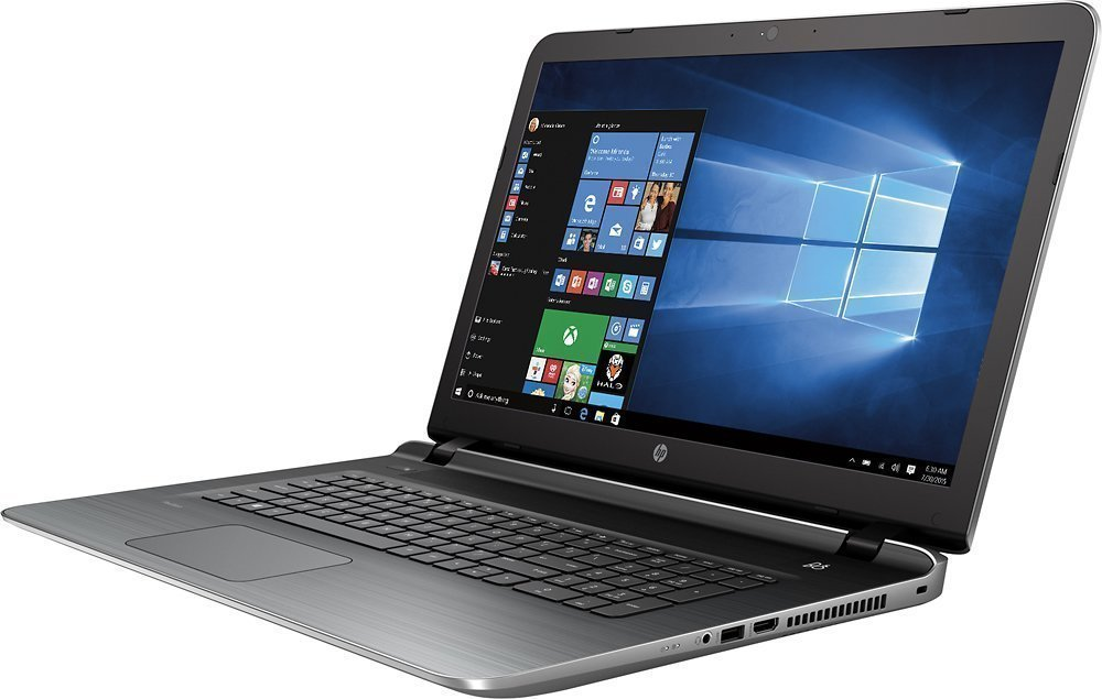2016 Newest HP 17.3-inch High Performance Premium Laptop, Intel Core i5 Processor up to 2.7GHz, 4GB RAM, 1TB HDD, HD+ Backlit LED Screen, DVD+/-RW Drive, HDMI, Webcam, USB 3.0, Windows 10 64bit