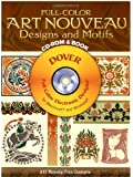 Full-Color Art Nouveau Designs and Motifs CD-ROM and Book