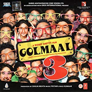 Golmaal 3 (Hindi Music / Bollywood Songs / Film Soundtrack / Indian Music CD)