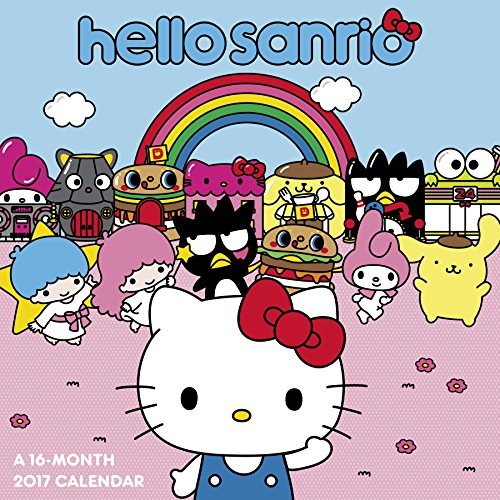 Hello Kitty Wall Calendar (2017)