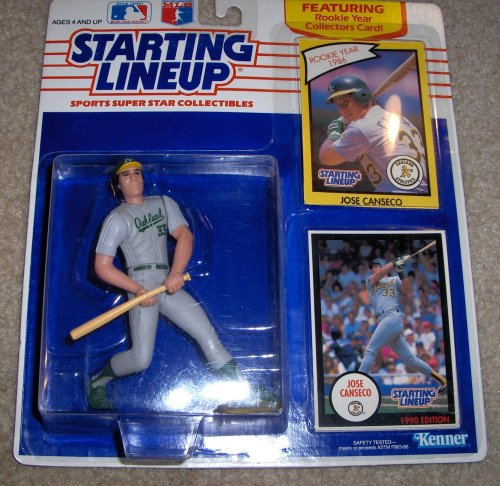 1990 Jose Canseco MLB Starting Lineup Figure - 1