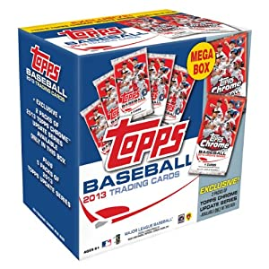Topps MLB 2013 Mega Box Trading Card Set