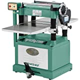 Grizzly G0454Z Planer with Spiral Cutterhead, 20-Inch (Color: Not applicable, Tamaño: Not applicable)