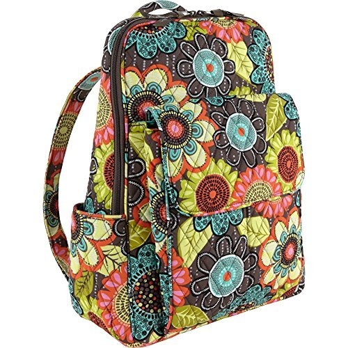 Vera Bradley Women's Ultimate Backpack Flower Shower Backpack