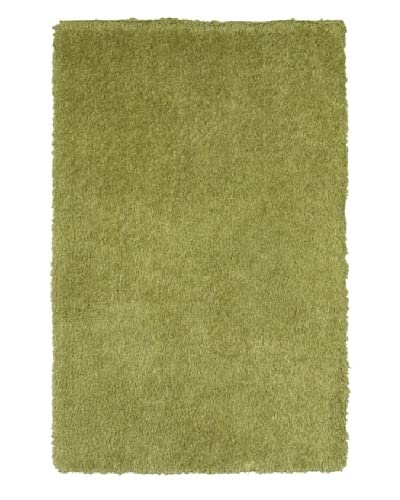 Trade-Am Senses Shag Rug  [Green]