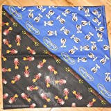 Betty Boop Angel Devil Good Bad Girl Black Royal Blue Scarf