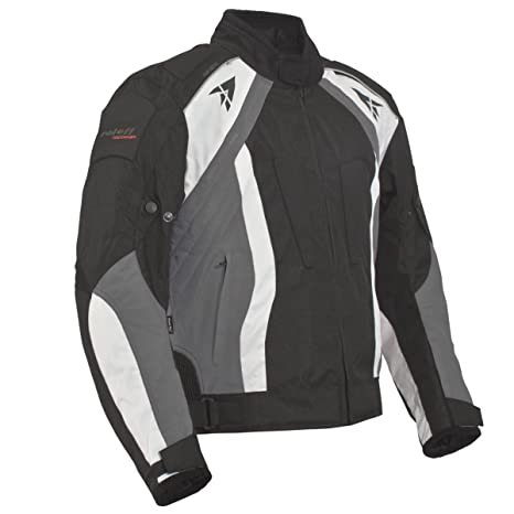 Roleff Racewear 2016 Blouson Moto Rhodes, Noir/Gris, XXL