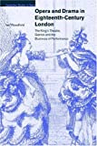 img - for Opera and Drama in 18C London: The King's Theatre, Garrick and the Business of Performance (Cambridge Studies in Opera) by Ian Woodfield (2008-08-21) book / textbook / text book