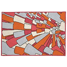 Trina Turk for Peking Handicraft Mosaic Hook Rug