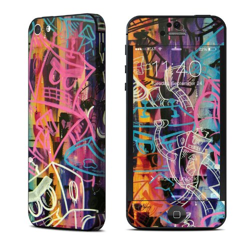 Robot Roundup Design Protective Decal Skin Sticker (High Gloss Coating) For Apple Iphone 5 16Gb 32Gb 64Gb Cell Phone