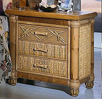 Banyan 3 Drawer Night Stand
