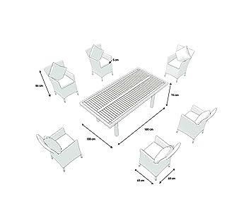 5 Artelia Ensemble Table Et Chaises Chaises R Sine Tress E Plateau Bois Composite Yamuna