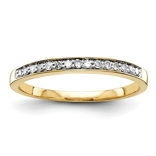 14ct Gold Rough Diamond Wedding Band Ring