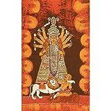 """Volkskunst aus Indien Batik-Gem�lde Wachs auf Stoff 58 x 91 cmvon """"ShalinIndia"""""""