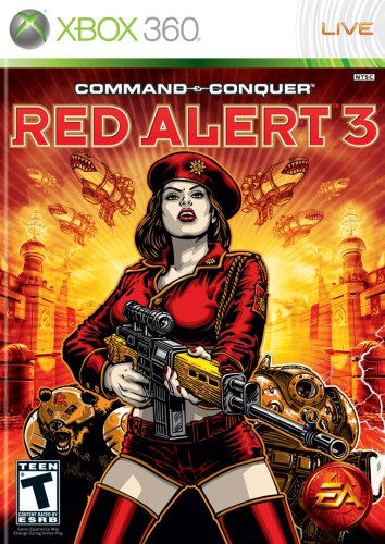 Command & Conquer Red Alert 3 (XBOX360 輸入版 北米)日本版XBOX360動作可