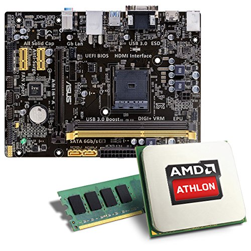 AMD-Athlon-5350-ASUS-AM1M-A-Mainboard-Bundle-CSL-PC-Aufrstkit-AMD-Athlon-5350-APU-4x-2050-MHz-Radeon-HD-8400-GigLAN-71-Sound-USB-30-Aufrstset-PC-Tuning-Kit