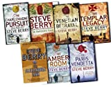 Steve Berry Steve Berry 7 Books Collection Pack Set RRP: £54.93 (The Charlemagne Pursuit, The Templar Legacy, The Paris Vendetta, The Venetian Betrayal, The Amber Room, The Alexandria Link, The Emperor''s Tomb)