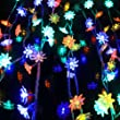 ZeleSouris 100 leds guirlande lumi�re d�coration pour maison magasin restaurant jardin fen�tre / led Lotus lampe 10m multicolore