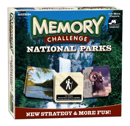 Memory Challenge: National Parks made our list of camping gifts couples will love and great gifts for couples who camp