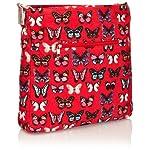 SwankySwans Girls Roche Butterfly Crossbody Bag Wallet - luggage