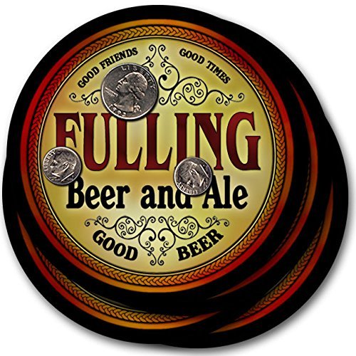 Fulling Beer & Ale - 4 pack Drink Coasters (Fulling compare prices)