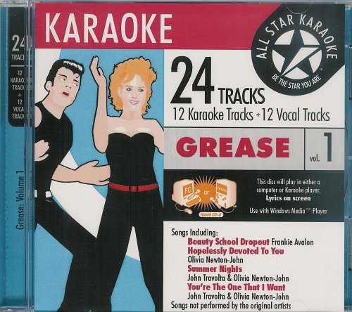 Various Artists - ASK-1546 GREASE KARAOKE Vol.1 - Zortam Music