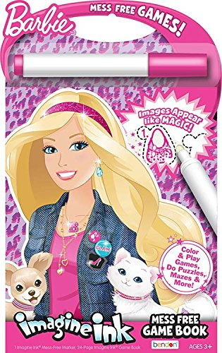 Bendon Inc. Barbie- Imagine Ink: Mess Free Game Book