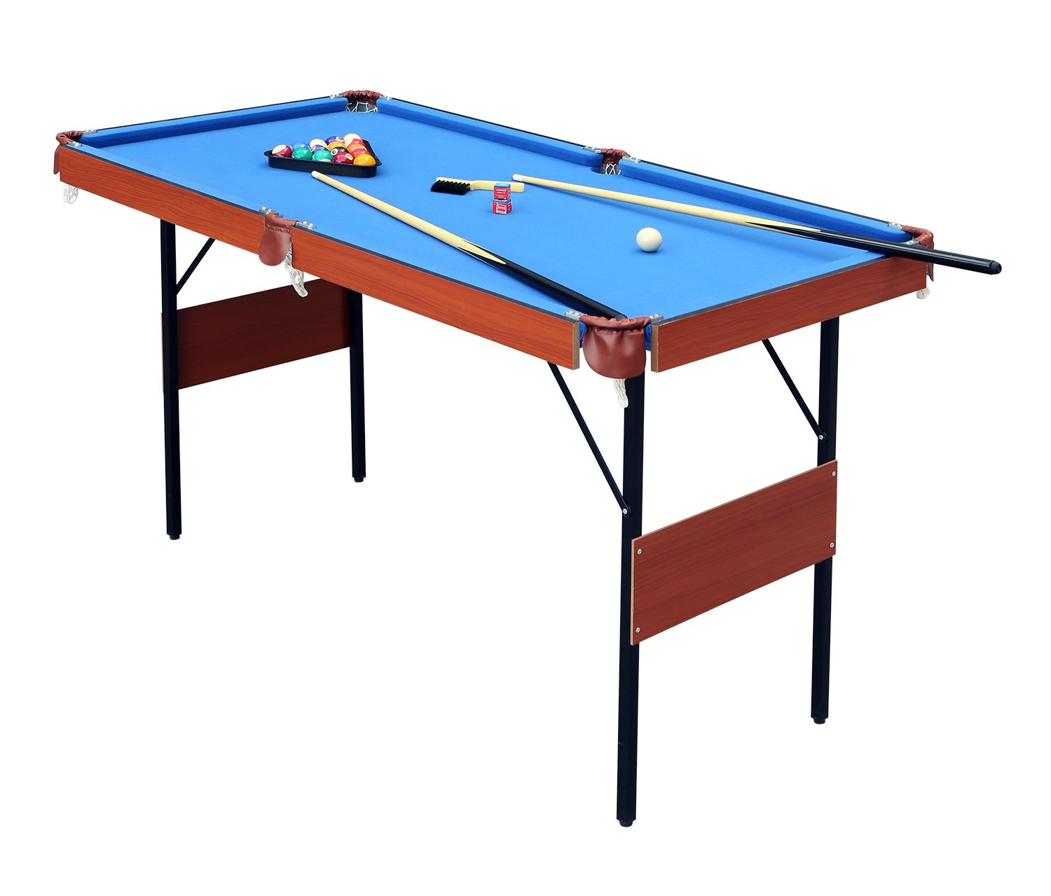 Hlc 55 folding space saver pool billiard table review - How much room do i need for a pool table ...