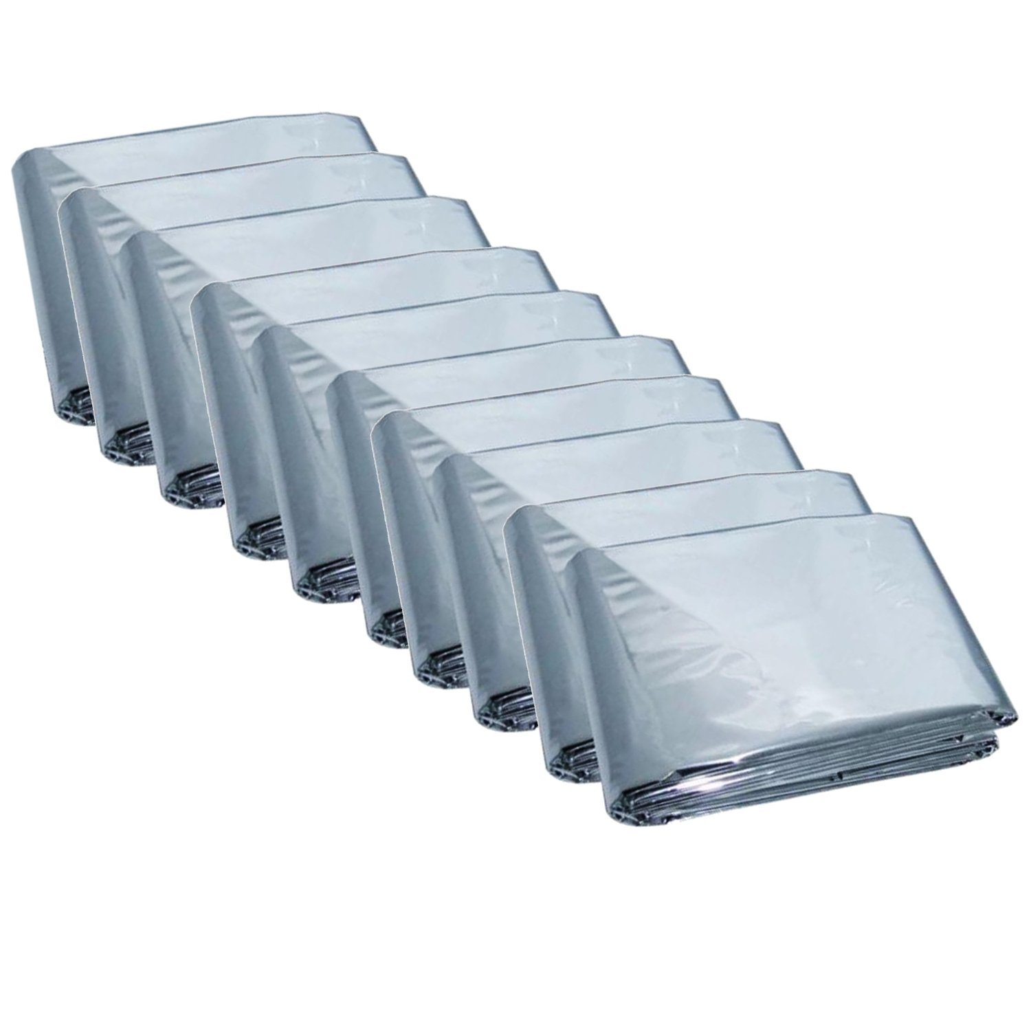 Emergency Mylar Thermal Blankets (Pack of 20)