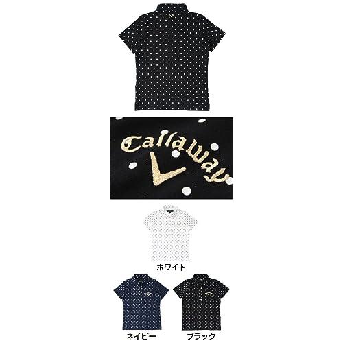 キャロウェイX SERIES ポロシャツ 半袖ベア天ドット柄シャツ 241-157878 レディス