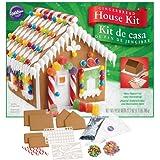 Wilton 2104-1914 Pre-Baked Gingerbread House Kit, Petite