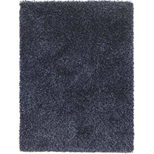 5 Sizes Available - Nordic - Cariboo Denim Mix - Good Quality Shaggy Rug from Flair Rugs
