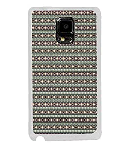 ifasho Animated Pattern colrful tribal design rajasthani style Back Case Cover for Samsung Galaxy Note 4 Edge
