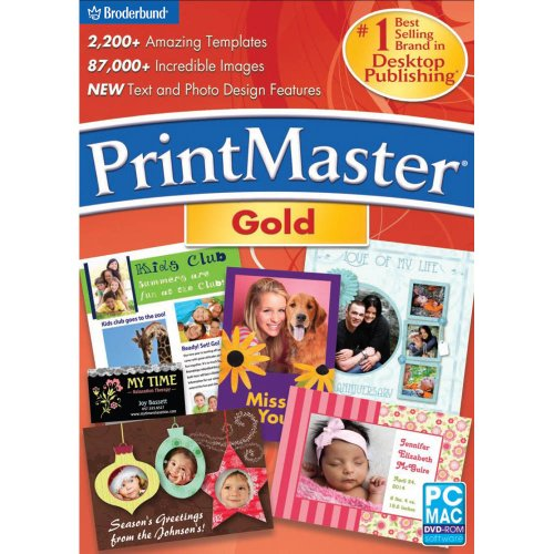 PrintMaster v6 Gold Mac [Download] image