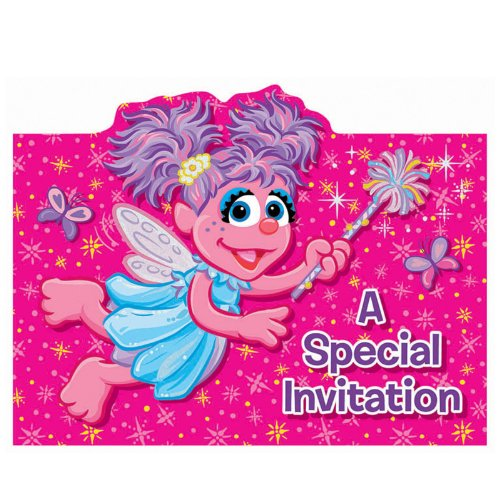 Abby Cadabby Invitation --Shaped-- - 8/Pkg. - 1