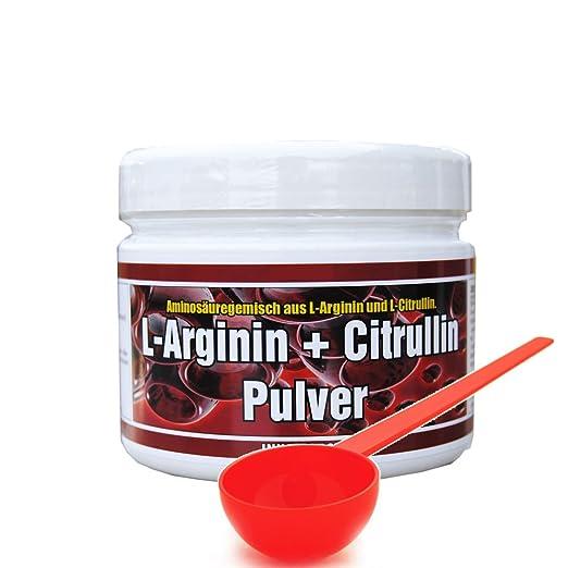 Arginin + Citrullin Pulver 300g + Dosierlöffel
